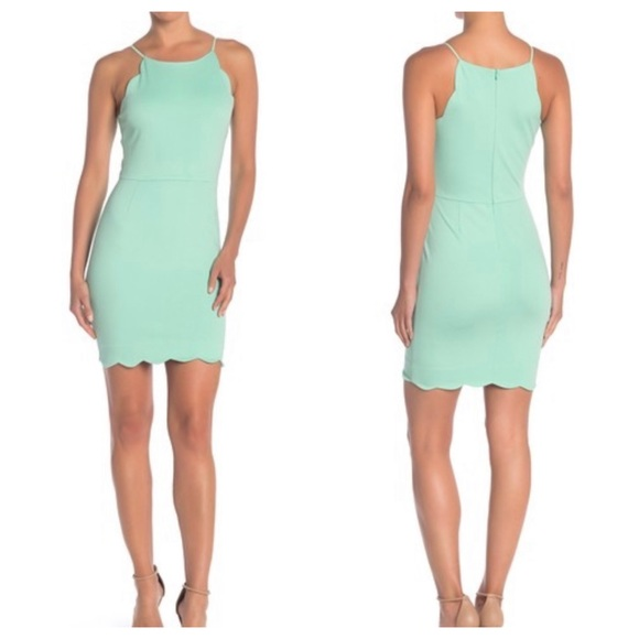 love...ady Dresses & Skirts - NWOT Love...Ady Scalloped Bodycon Dress